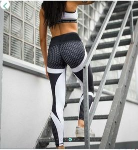 Running Slimming Honeycomb Leggings Great Stretch!